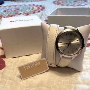 Michael Kors Double-Wrap Watch